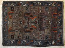 old hamadan or other northwest Persian rug