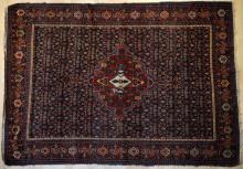 Old Senneh Kurdish Persian Rug