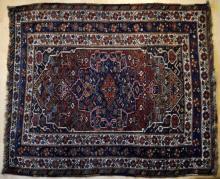 Old Qashqa'i tribal Persian rug