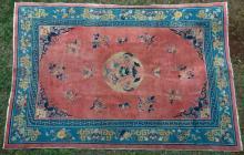 Antique Chinese Peking Carpet