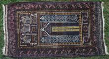 Baluch Afghan Prayer Rug