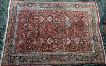 Antique Mahal Persian Carpet