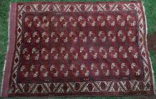 Antique Kizilayak Afghan main carpet