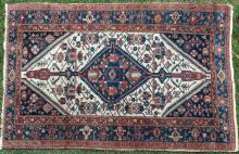 Antique Malayer northwest Persian rug
