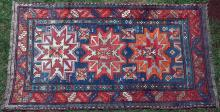 Antique Lesghi Caucasian Rug