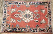 Old Malayer or Sarouk Persian rug