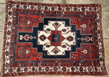 Afshar or northwest Persian tribal rug