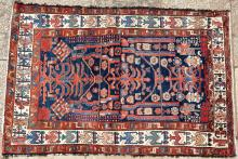Old Hamadan (?) northwest Persian rug
