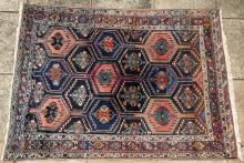 Old Afshar or Bakhtiari Persian rug