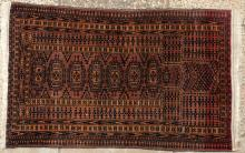Antique or old Saryk Turkoman Afghan prayer rug