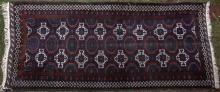 Baluch Afghan or Iranian tribal rug