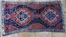 Old Perisian Malayer Village rug