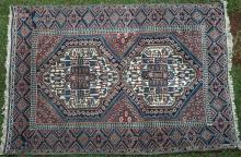 Old Afshar Tribal Persian Rug