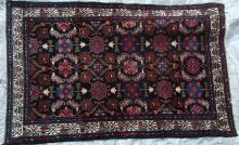 Antique Malayer Persian Rug hand-spun wool natural dyes