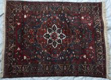 Antique Bakhtiari Persian Tribal Rug