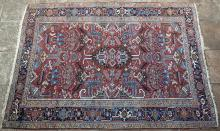 Old Heriz Persian Carpet