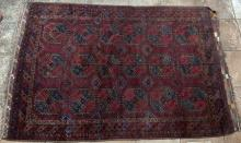 Antique Ersari Turkoman Afghan main Carpet
