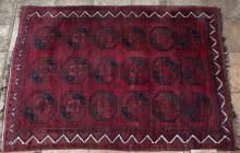 Old or Antique Afghan Ersari Carpet