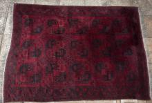 Old Afghan Ersari filpai carpet