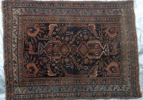 Afshar Tribal Antique 19th Century Persian
