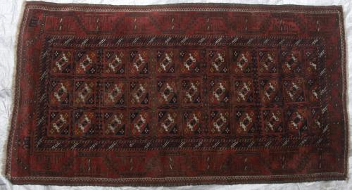 Antique Baluch Taimuri Mushwani Tribal Rug Afghaistan