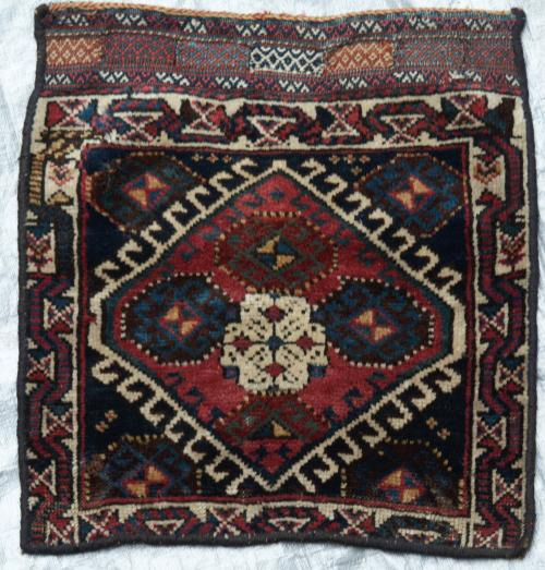 Antique Kurdish Persian Tribal vanity Bag 19th Century