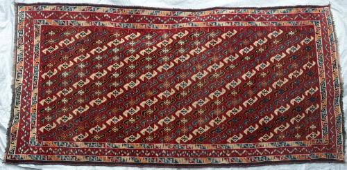 Lori or Luri Tribal Persian carpet hand-spun wool