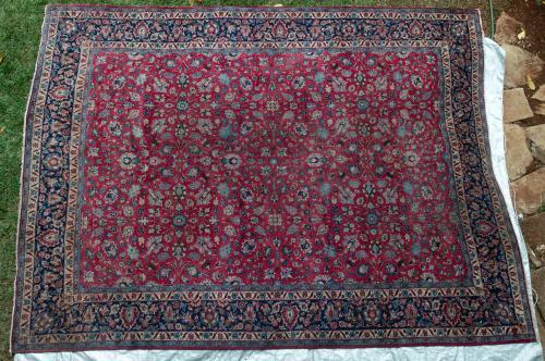 Mashad Khorrosan Persian Carpet Natural dyes