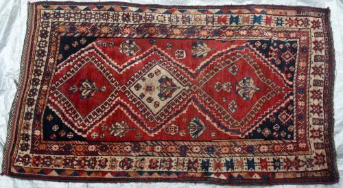 Lori or Luri Tribal Persian carpet hand-spun wool