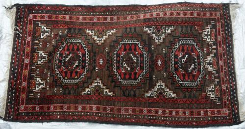 Baluch Taimuri Tribal Rug from Afghaistan or Eastern Persia