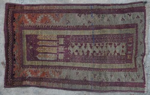 Baluch-type Afghan prayer rug