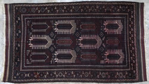 Antique Seistan Baluch Main Carpet Afghan
