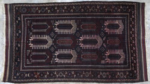 Antique Seistan Baluch Main Carpet Afghan