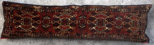 Antique Ersari Turkoman Aghan or Central Asian Torba