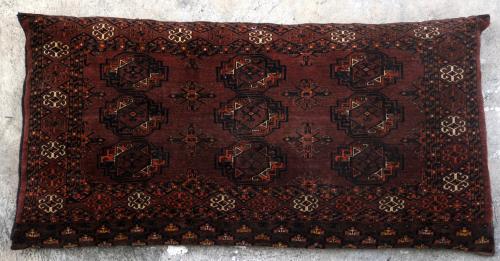 Antique Ersari Turkoman Aghan or Central Asian Jawals