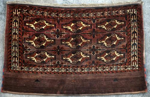 Antique Yomut Turkoman Tribal Central Asia Jawal