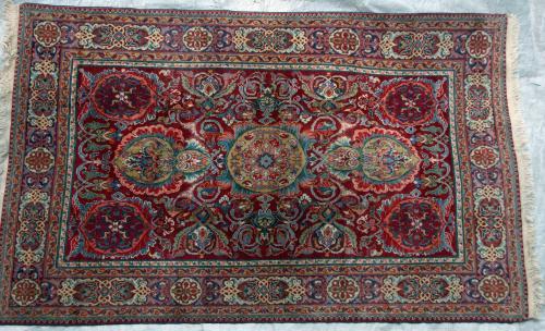 Old Baku Caucasion Tabriz design rug