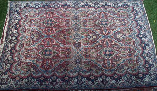 Antique Yadz Persian Carpet room size
