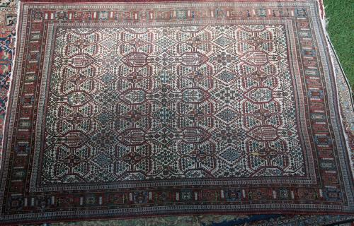 Josheghan Persian Tribal Carpet hand-spun wool