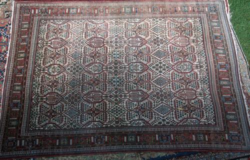 Josheghan Persian Tribal Carpet hand-spun wool