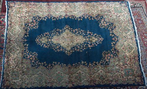 Kerman Antique Persian Carpet
