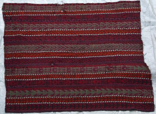Afshar Kilim Flatweave Antique Persian natural dyes wool