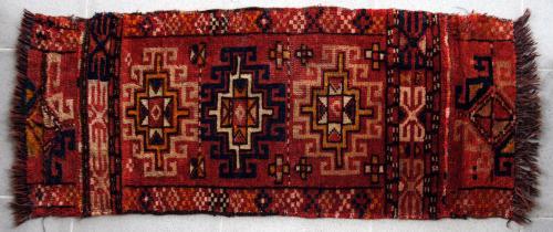 Antique Uzbek Mafrash or tent bag Central Asia