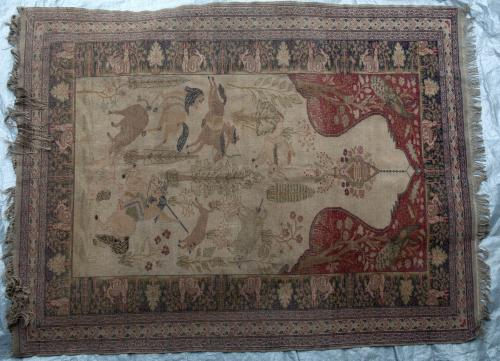 Turkish Kayseri Hunting Rug