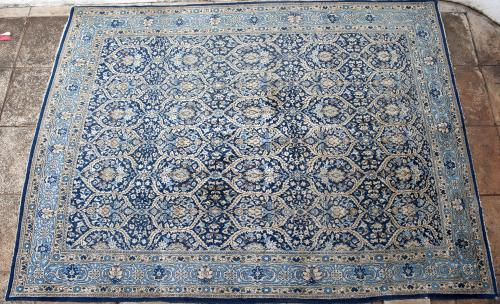Old Qum or Ghom Persian carpet