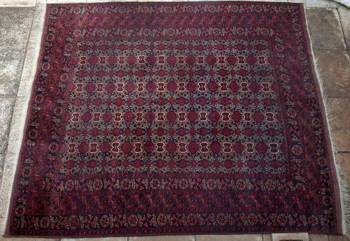 Old Afghan Beshir Carpet