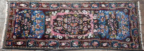 Old or antique Bakhtiari Persian runner