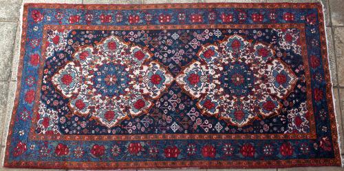 Old Bakhtiari Persian Carpet
