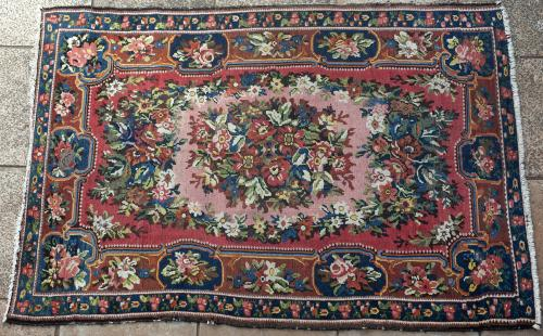 Old Bakhtiari Persian rug