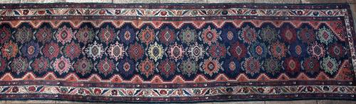Old or antique Malayer Persian Runner
